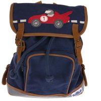 Mini-Backpack Motiv Racecar marine