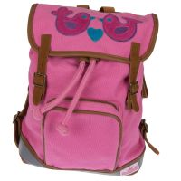 Mini-Backpack Birds rosa